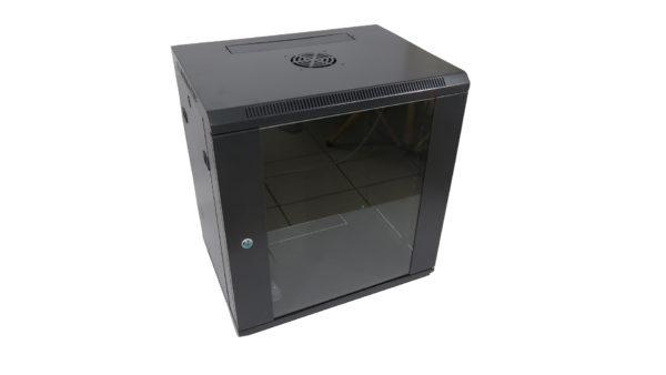 Rack wall-mount 12U 60x45cm NETLOG