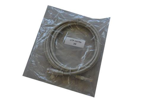 Patch cord 3m cat5e CCA NETLOG