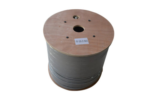Cablu FTP cat6A 0.57mm LSZH cupru masiv