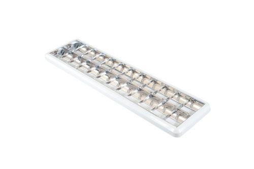Corp de iluminat tip FIRA 2x36W aplicat