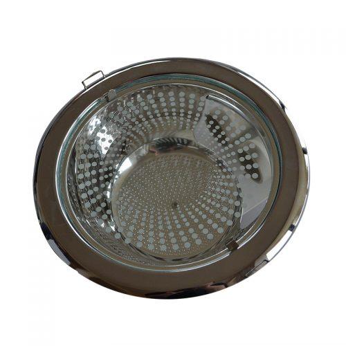Spot incastrat tip downlight 2xE27 cromat FINILUCE