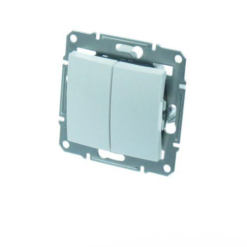 Intrerupator dublu (comutator) SEDNA cod SDN0300121 Schneider Electric