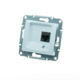 Priza simpla internet cat5 SEDNA cod SDN4300121 Schneider Electric
