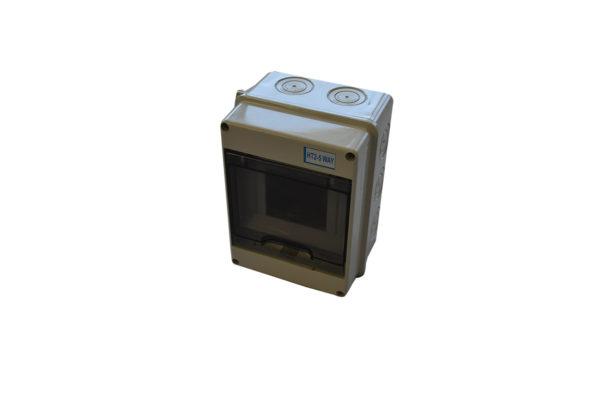 Tablou PVC IP65 pentru 5 sigurante MODENA