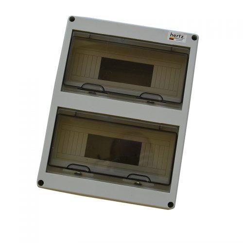 Tablou PVC IP65 pentru 24 sigurante MODENA