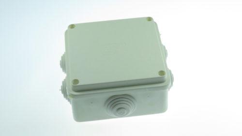 Doza aplicata patrata 100x100mm SURUB METALIC 32-21005-100 Courbi