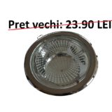 Spot incastrat tip downlight 2xE27 cromat FINILUCE