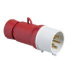 Fisa (stecher) 16A 380V 5 pini IP44 cod PKE16M435 Schneider Electric