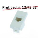 Priza 1M internet cat5 modular cod 40035 MODENA