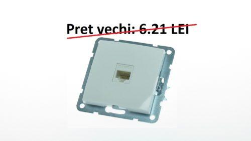 Priza internet simpla cod 60035 MODENA