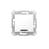 Intrerupator simplu cu led SEDNA cod SDN1400121 Schneider Electric