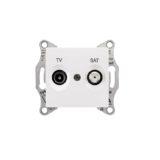Priza simpla TV + SAT SEDNA cod SDN3401621 Schneider Electric