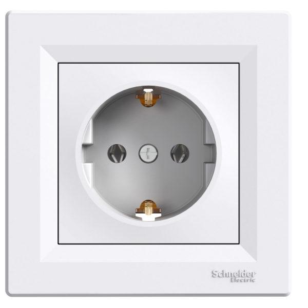 Priza simpla ASFORA cod EPH2900121 Schneider Electric