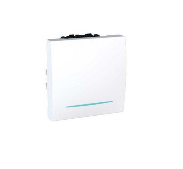 Intrerupator simplu cu led UNICA Basic cod MGU3.201.18N Schneider Electric