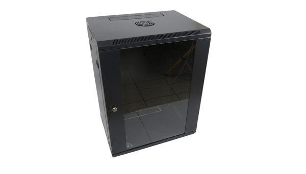 Rack wall-mount 15U 60x45cm NETLOG