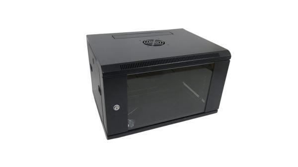 Rack wall-mount 6U 60x45cm NETLOG