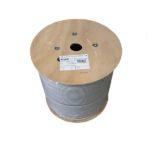 Cablu SFTP cat6e 0.57mm LSZH cupru masiv