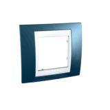 Rama simpla Albastru Glaciar UNICA Colors cod MGU6.002.854 Schneider Electric