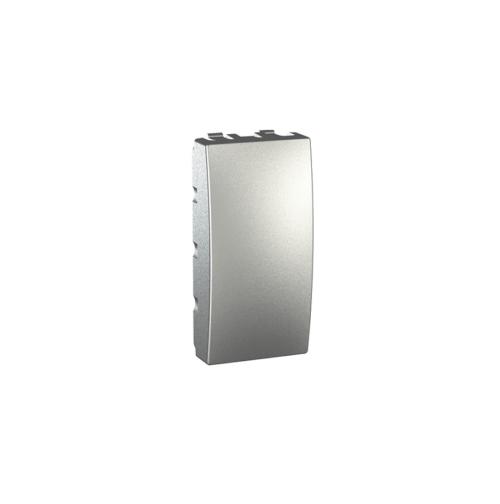 Tasta falsa (obturator) 1m Silver UNICA modular cod MGU9.865.30 Schneider Electric