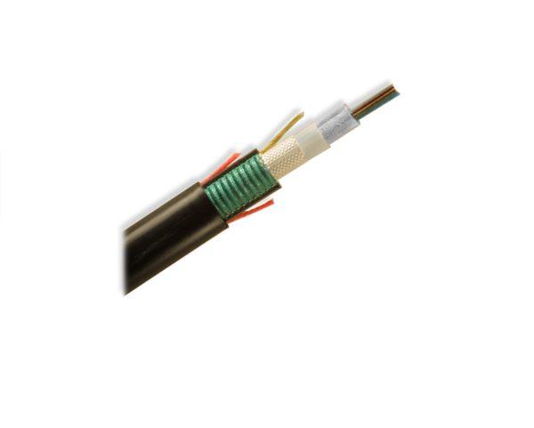 Cablu Fibra Optica cu armatura metalica SM 12 Fibre 1.5kN