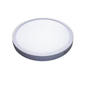 Spot cu LED (downlight) 24W Alb-Rece rotund aplicat