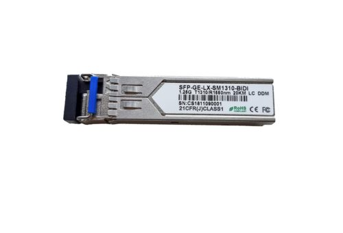 Modul SFP SM WDM 20 Km 1.25G TX1310/RX1550 conector LC