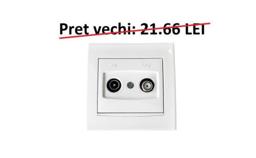 Priza TV - SAT ANYA cod AYA3400221 Schneider Electric