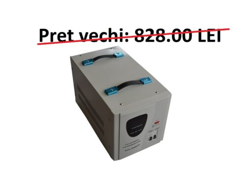 Stabilizator tensiune 220V 10000VA / 7000W Resigilat